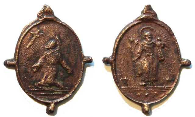 asis - Algunas medallas sobre San Francisco de Asís Sans_t14
