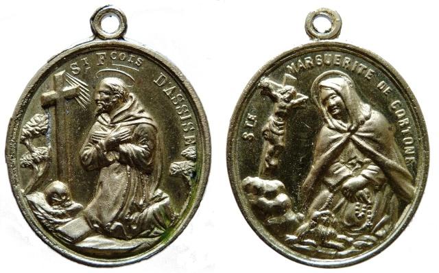 asis - Algunas medallas sobre San Francisco de Asís Sans_t16
