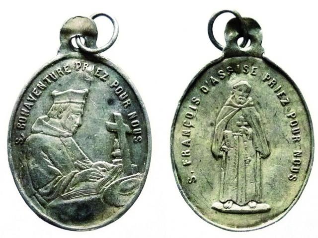 asis - Algunas medallas sobre San Francisco de Asís Sans_t17