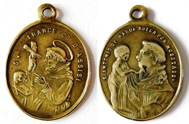 asis - Algunas medallas sobre San Francisco de Asís Sans_t19