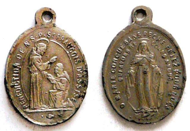 asis - Algunas medallas sobre San Francisco de Asís Sans_t20