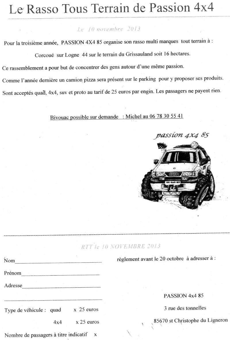 Rasso Tout Terrain à Corcoué Sur Logne : 10/11/2013 Inscri10