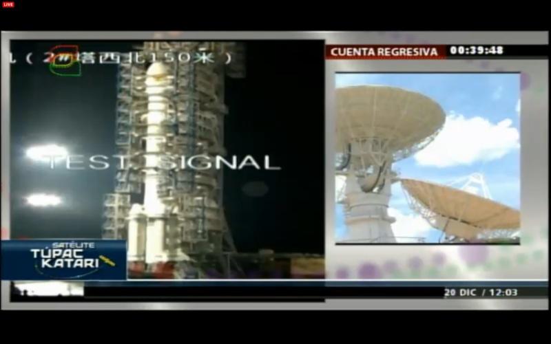 Lancement CZ-3B / TKSat-1 à XSLC - Le 21 Décembre 2013 - [Succès]  Screen12