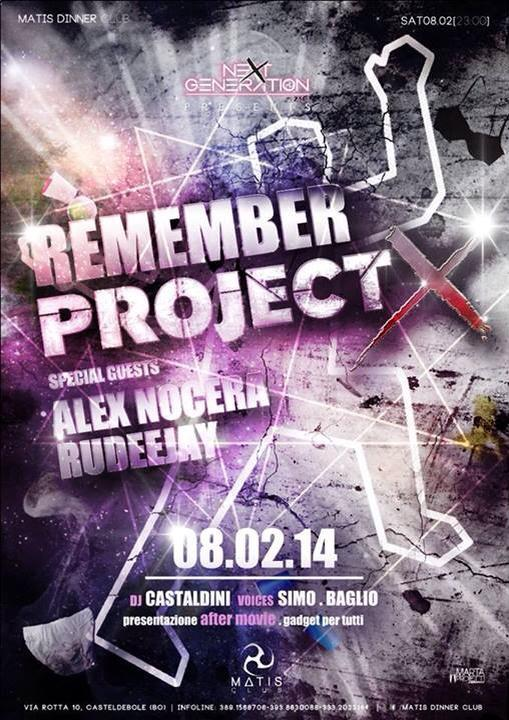 Sabato 08.02 @Matis - Remembre PROJECT X with ALEX NOCERA & RUDEEJAY Alex10