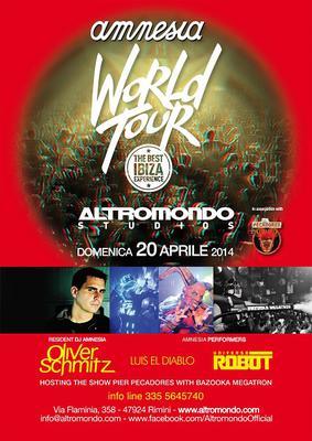 Domenica 20.04 @ALTROMONDO STUDIOS (Rimini) - PASQUA IBIZENCA! Info pacchetti 346 3218802 Altrom10