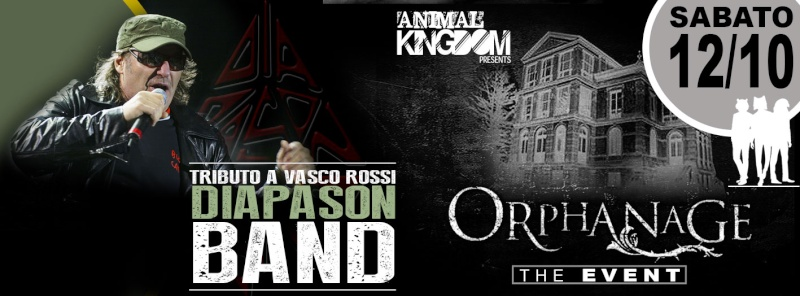 Sabato 12.10 @Campus Industry - Diapason Band & Orphanage Event Copert10