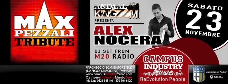 Sabato 23.11 @Campus Industry - MAX PEZZALI TRIBUTE BAND + SPECIAL GUEST DJ ALEX NOCERA Copert17