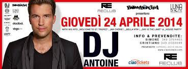 Giovedì 24.04 @ReClub (RE) - Bombon3ra presenta DJ ANTOINE! Info 346 3218802 Downlo10
