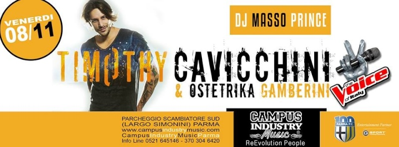 Venerdì 08.11 @Campus Industry - Timothy Cavicchini & Ostetrika Gamberini + DJ SHOW MassoPrince Foto_110