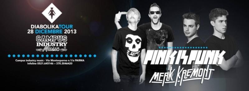 Sabato 28.12 @Campus Industry - DIABOLIKA IN TOUR with PINK IS PUNK & MERK KREMONT Timthu13