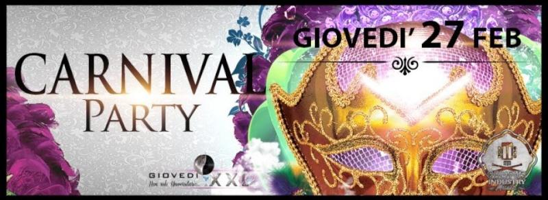 Giovedì 27.02 @Campus Industry - Il GIOVEDI' XXL presenta CARNIVAL PARTY Timthu17