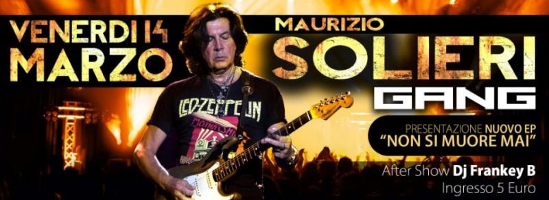 Venerdì 14.03 @Campus Industry - SOLIERI GANG with MAURIZIO SOLIERI + DJ SHOW FRANKEY B Timthu19