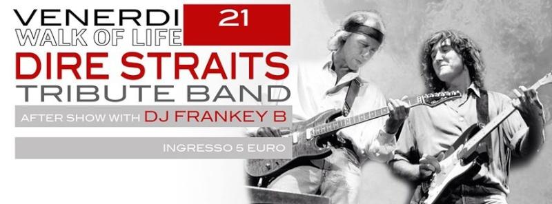 Venerdì 21.03 @Campus Industry - DIRE STRAITS Tribute band + DJ SHOW BY FRANKEY B Venerd12