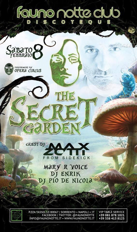 Sabato 08.02 @Fauno Notte - Special Guest DJ MAX ZOTTI Zotti10