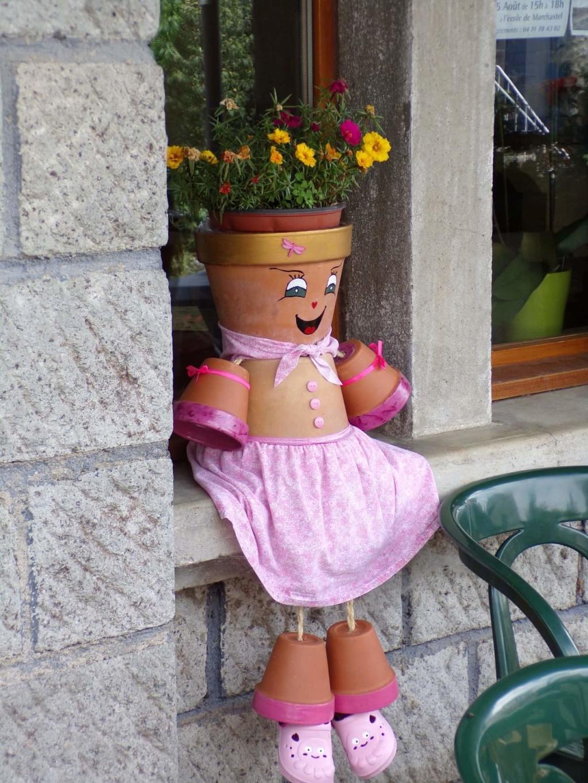 """""""Ex-pots"""" dans le bourg de Marchastel !  37654111"""