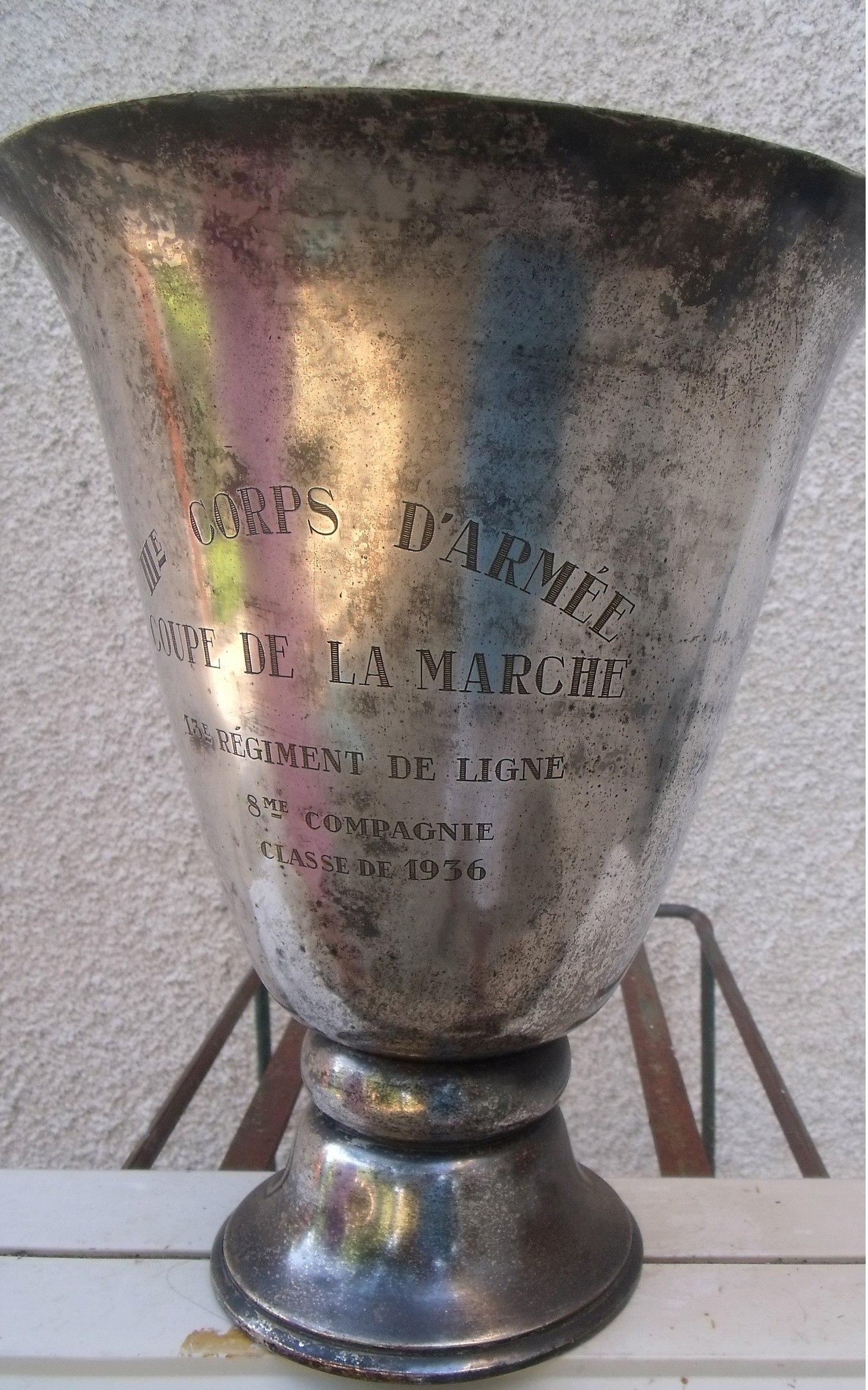 IIIème Corps dArmée coupe de la Marche classe 1936 00114