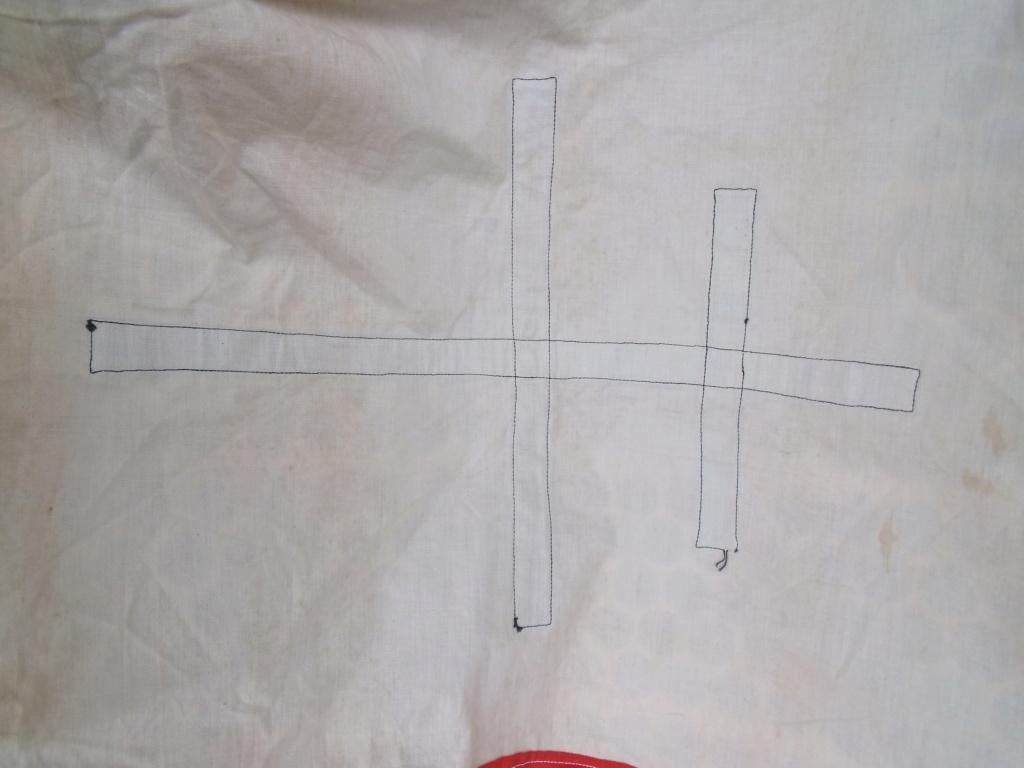 drapeau francais croix de LORRAINE Drapea13