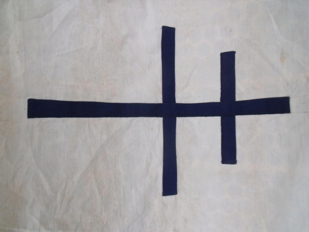 drapeau francais croix de LORRAINE Drapea14