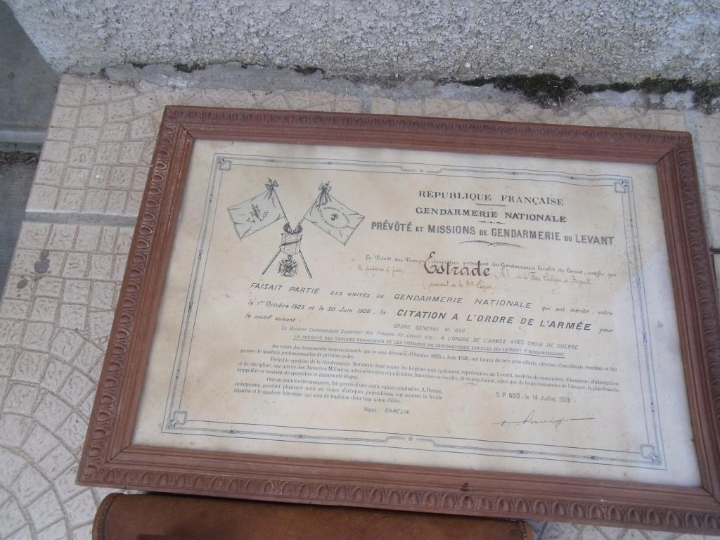 gendarme au LEVANT - BEYROUTH 1926  Dscf7017