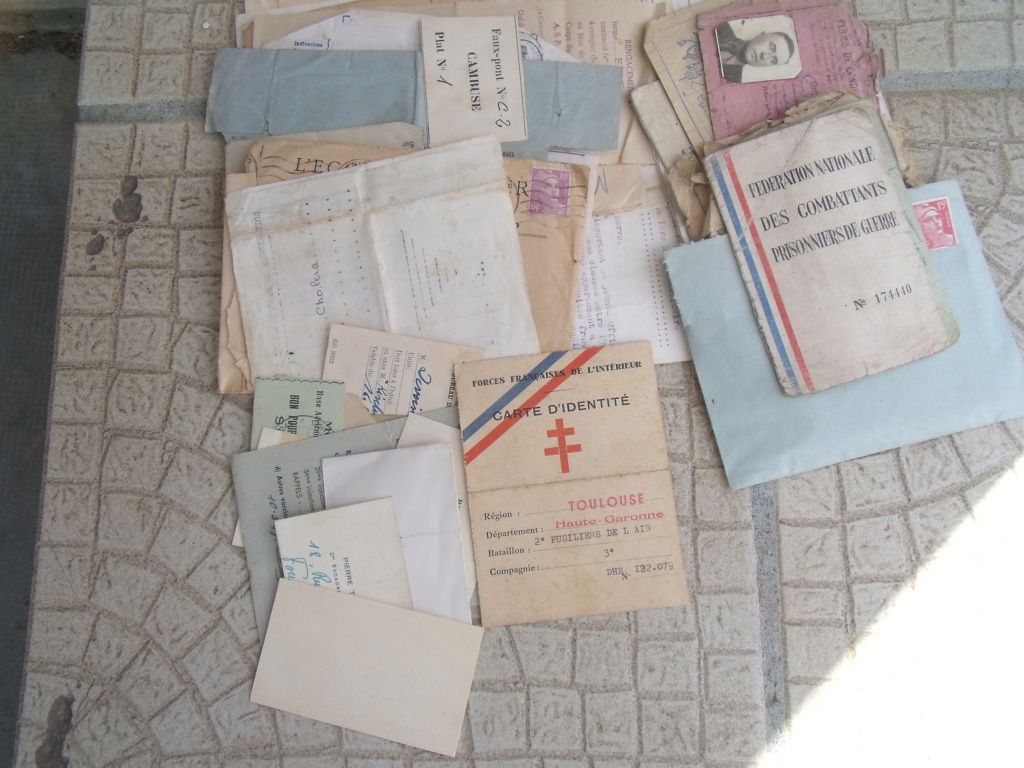 aviateur FFI DE TOULOUSE carte et papiers Dscf7137