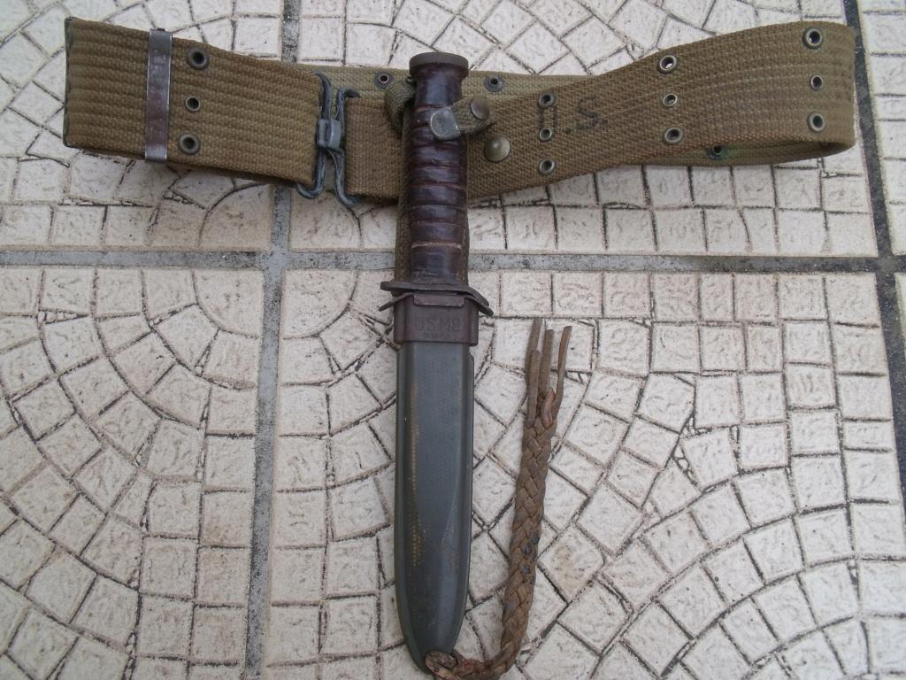 direct du particulier couteau USM3 UTICA ceinturon US  Dscf7333