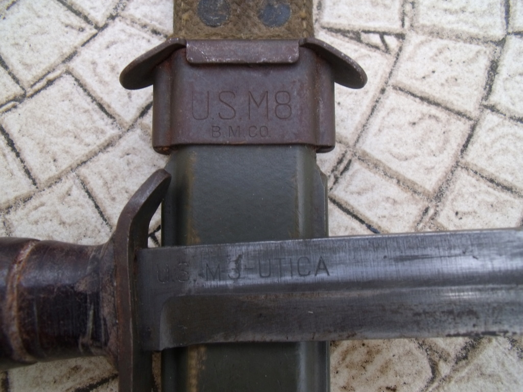 direct du particulier couteau USM3 UTICA ceinturon US  Dscf7334