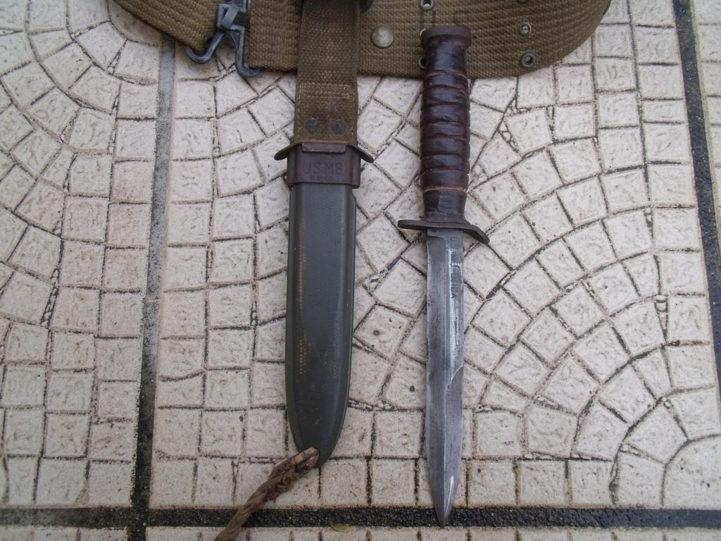 direct du particulier couteau USM3 UTICA ceinturon US  Dscf7335