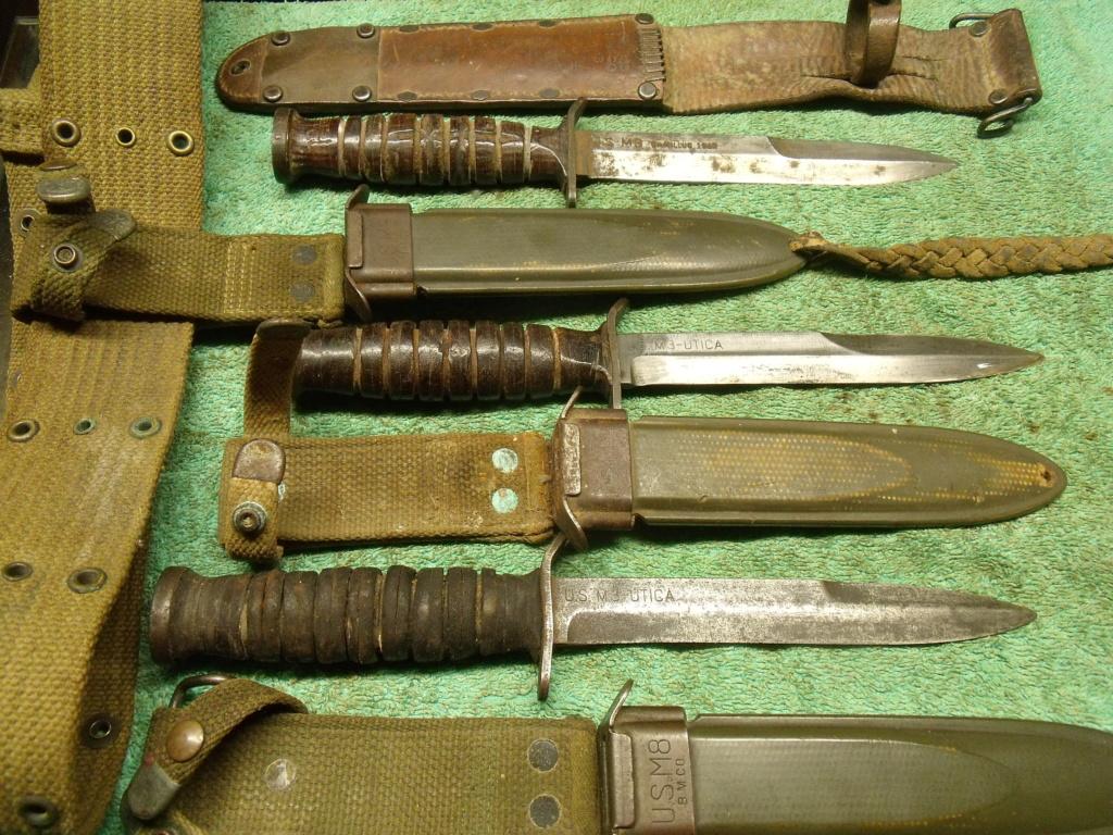 direct du particulier couteau USM3 UTICA ceinturon US  Dscf7342