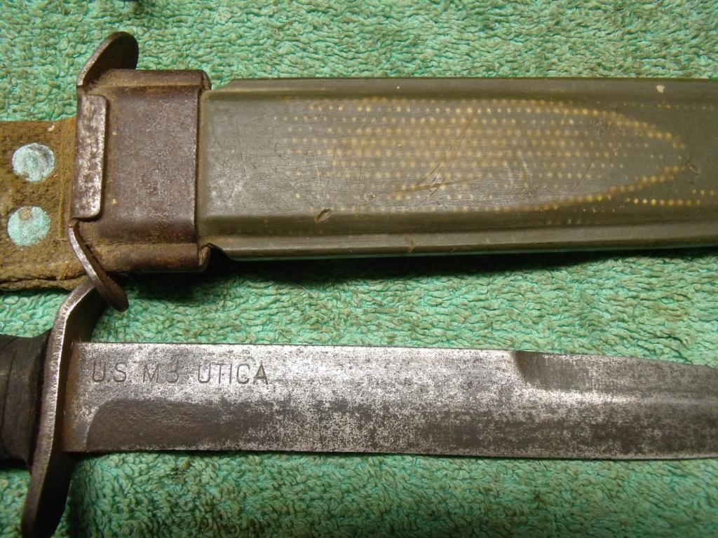direct du particulier couteau USM3 UTICA ceinturon US  Dscf7343