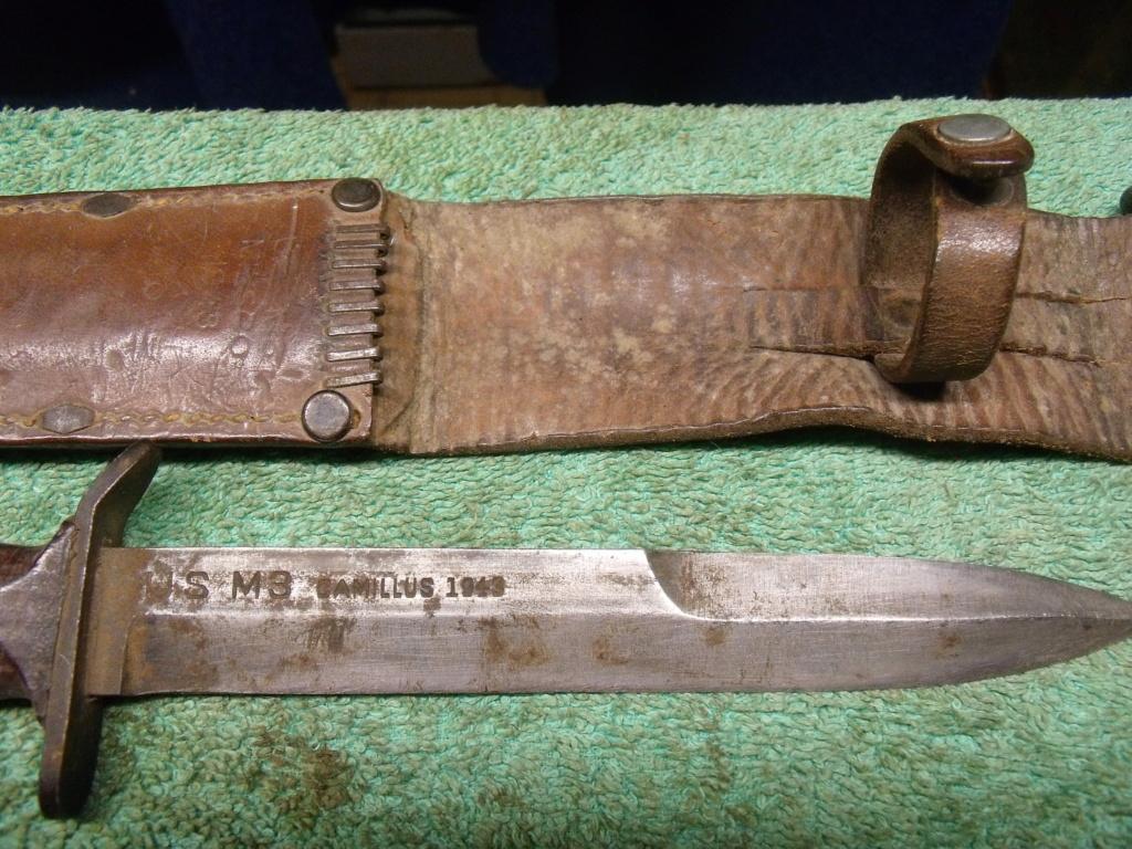direct du particulier couteau USM3 UTICA ceinturon US  Dscf7345