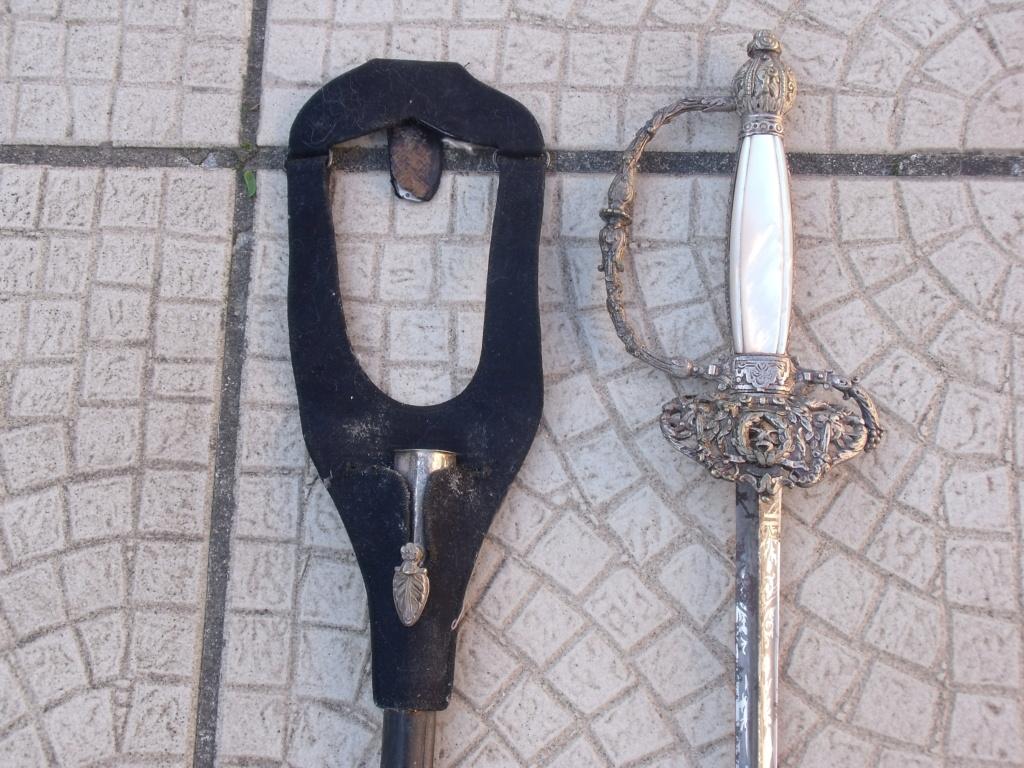 dernière trouvaille 09 épée d'administration ou de préfet Dscf7414