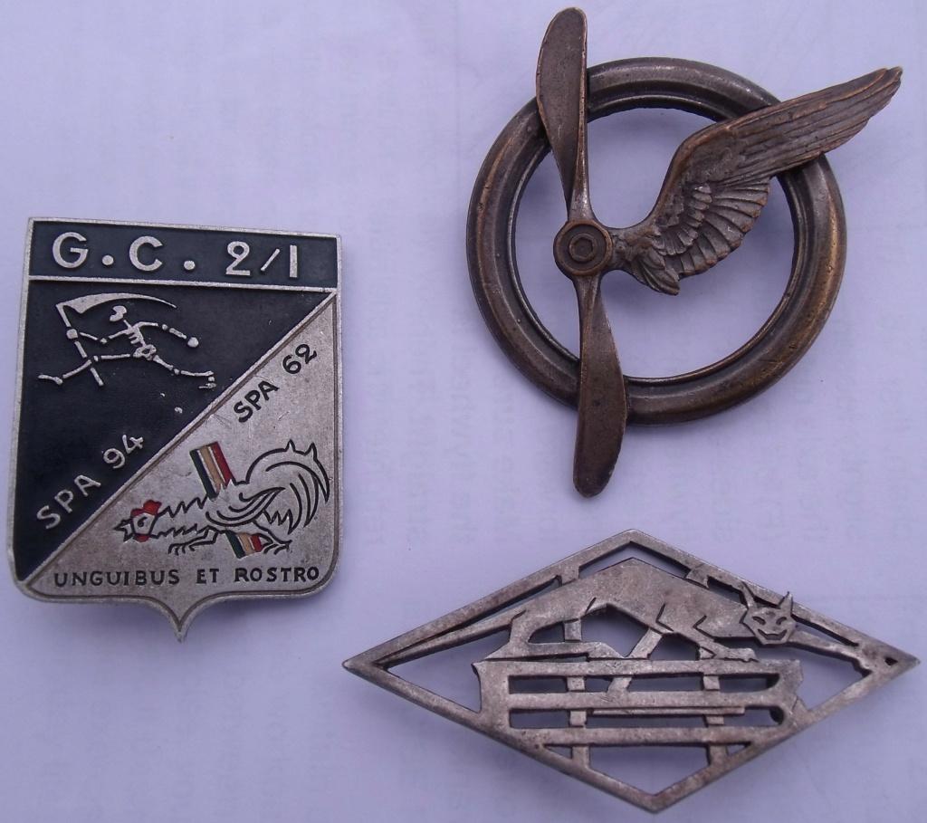 LOT 3 insignes aviation ww2 Dscf7642