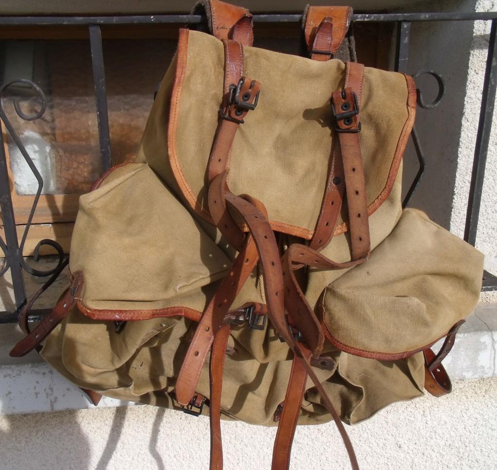 sac à  dos français type BERGAM couleur cachou   Dscf7729