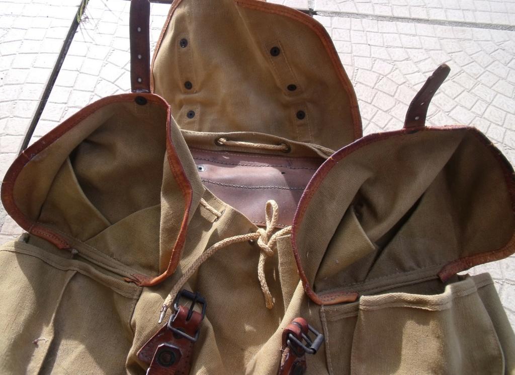 sac à  dos français type BERGAM couleur cachou   Dscf7731