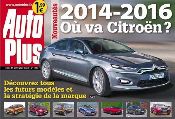 2014/5 - [FUTUR MODÈLE] Citroën C5 MK3 [X8/X9] - Page 38 47526210
