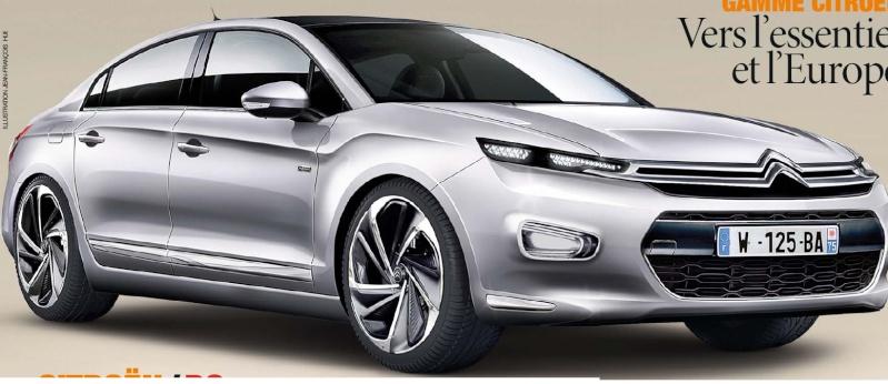 201? - [RUMEUR] Citroën C5 III [X8/X9] E9377b10