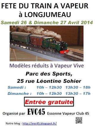 Fête du train à vapeur Evc10