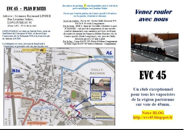 Fête du train à vapeur Evc110