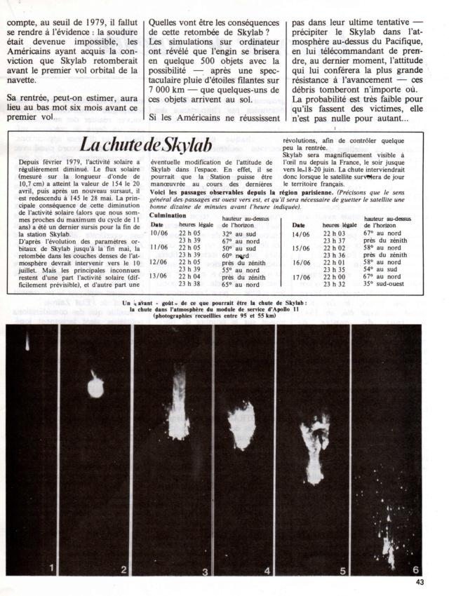 14 mai 1973 - Skylab - Seule station spatiale américaine - Page 3 Skylab10