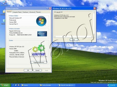 Windows XP SP3 Lite 2008 v3.1 SuperFast Xplite10