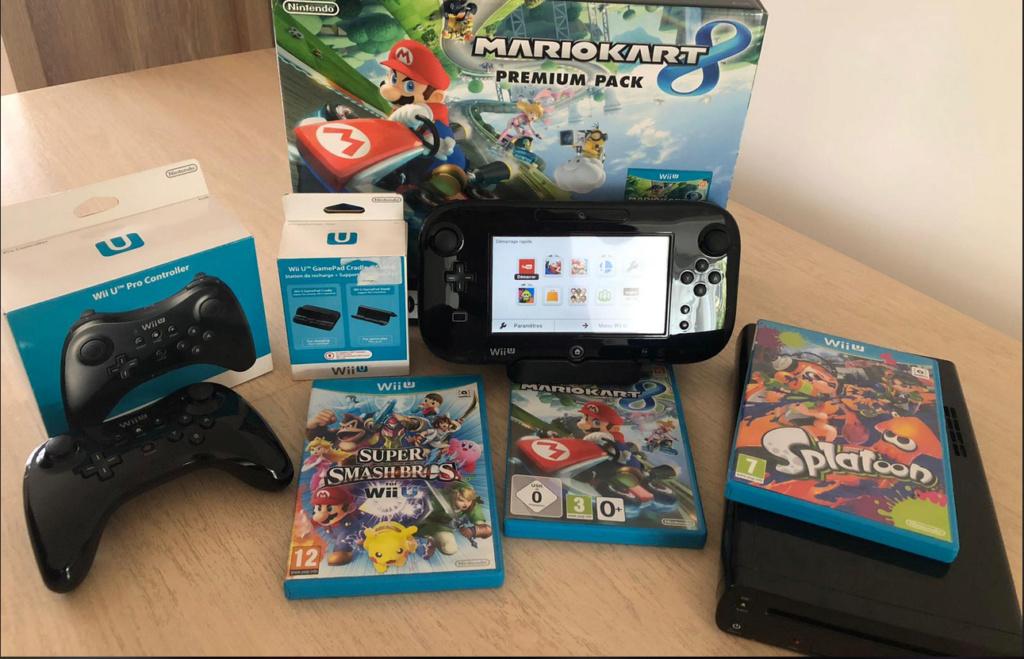 [VDS] Lot Wii U + Skylanders 110