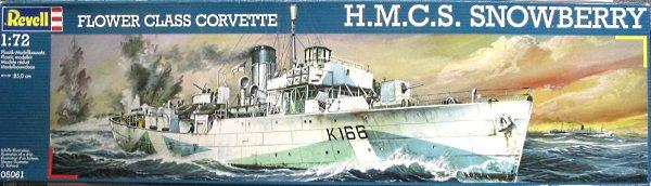Revell: Flower Class Corvette  HMCS Snowberry Revell10