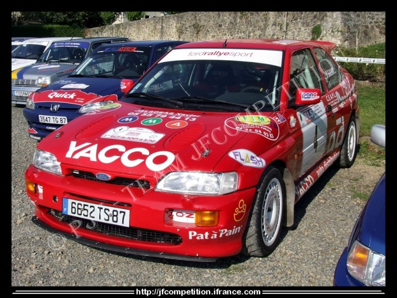 Pierre Alexandre GAUVIN / Jean Michel GAUVIN - FORD Escort Cosworth FN4 Jfc-md13