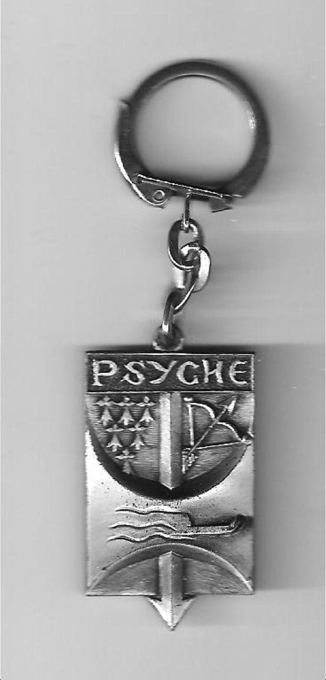 [ Logos - Tapes - Insignes ] PORTE-CLÉS Psyche10