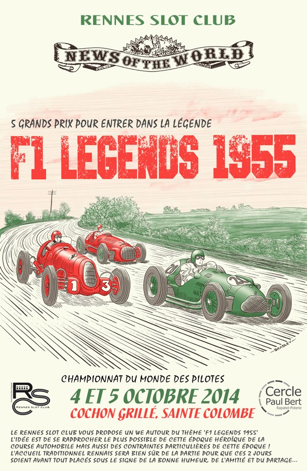 F1 Legends à Rennes, les 4-5 octobre 2014 Affich12