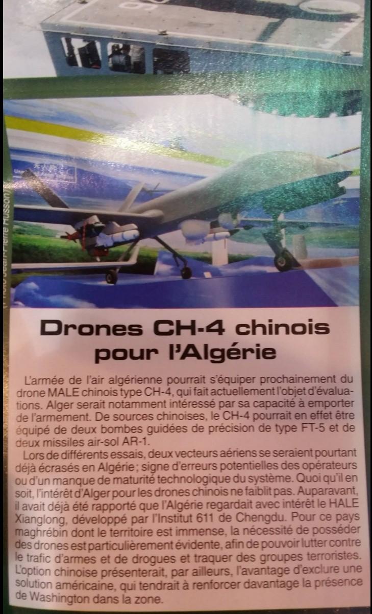تفاوض بين الصين و الجزائر لبناء مركز تصميم وتطوير طائرات بدون طيار في الجزائر  Raids_10