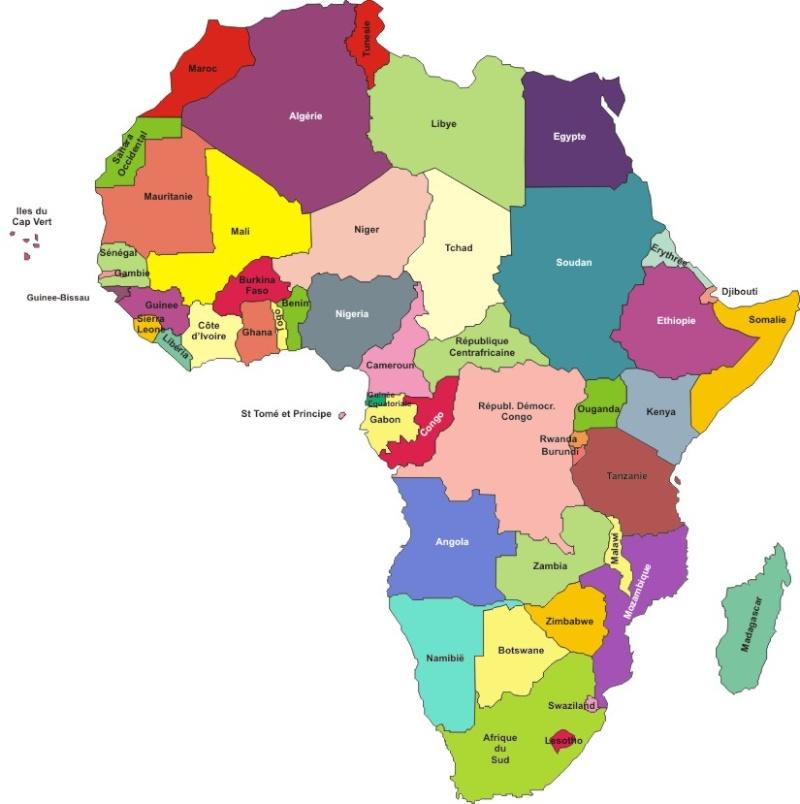 LC L'Afrique par tous ses pays Carte-10