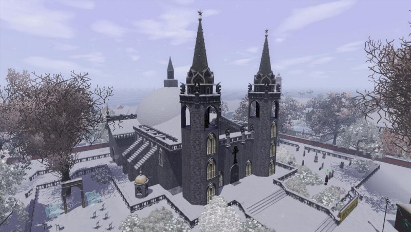 [Inspiration] [Sims 3] Eglises et cathédrales Bz7hrc10
