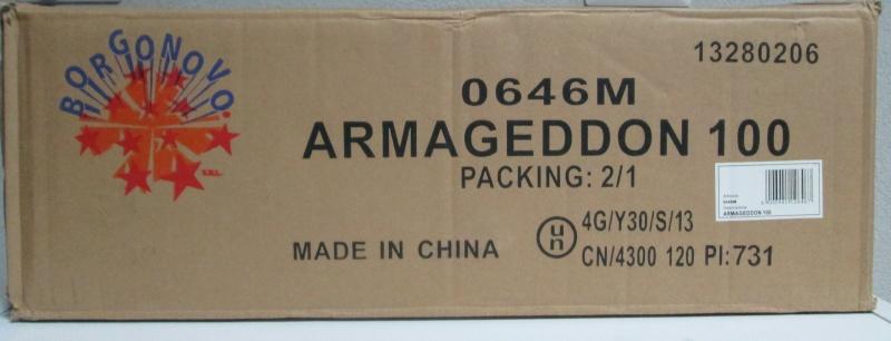 ARMAGEDDON 100 00615