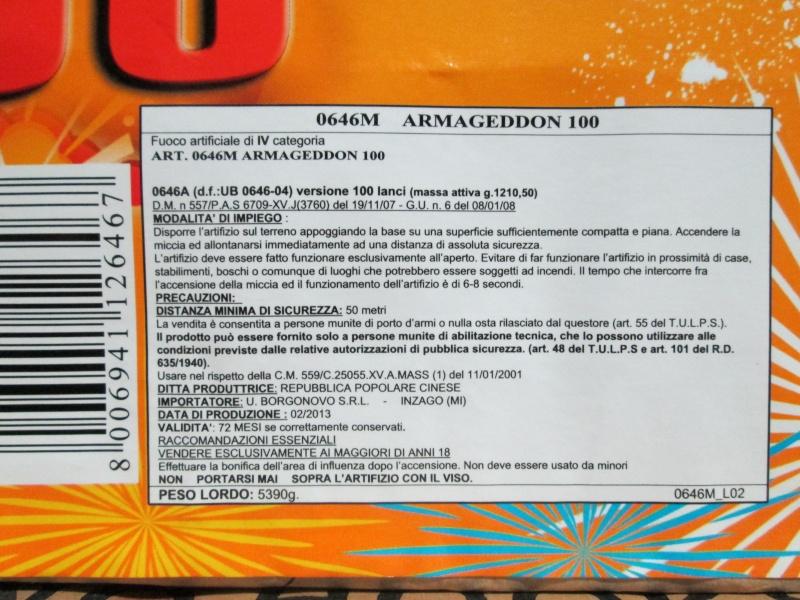 ARMAGEDDON 100 00913